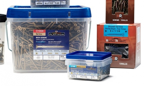 Cabinet, Masonry, and Drywall Screws for all of Your Interior Construction Projects